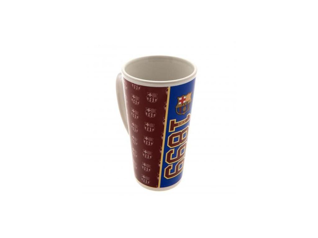Latté hrnek FC Barcelona crests 480 ml