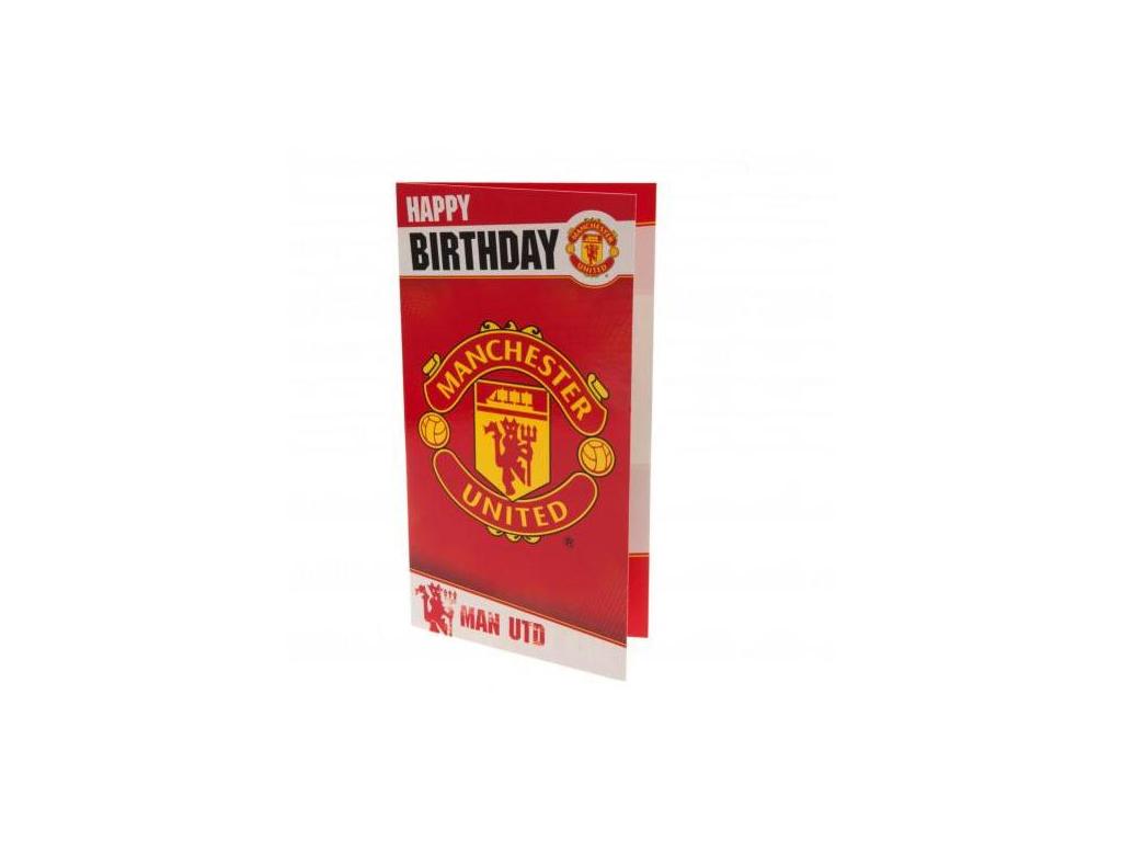 Blahopřání k narozeninám Manchester United fan