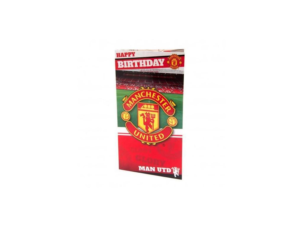 Blahopřání k narozeninám Manchester United stadium