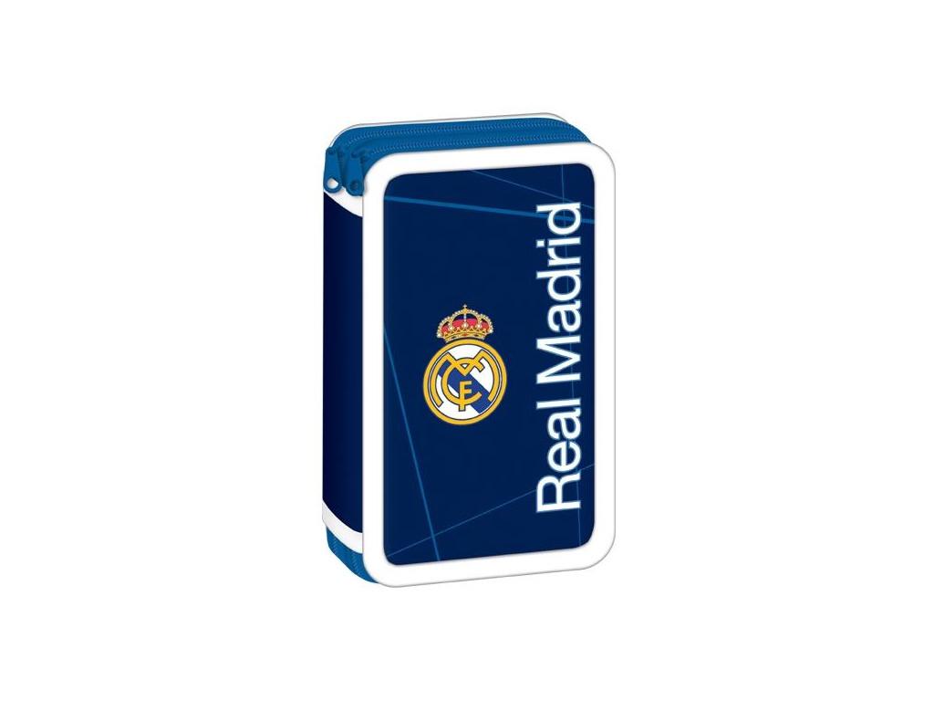 Penál Real Madrid dark blue dvoupatrový