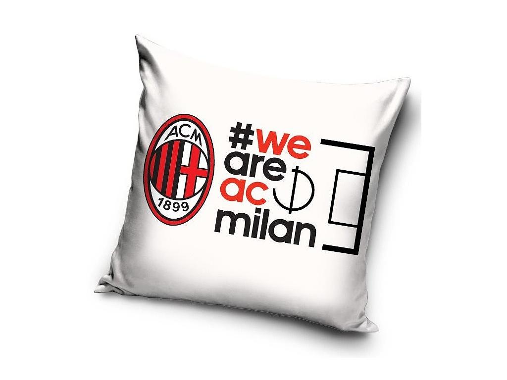 Povlak na polštářek AC Milán Hashtag