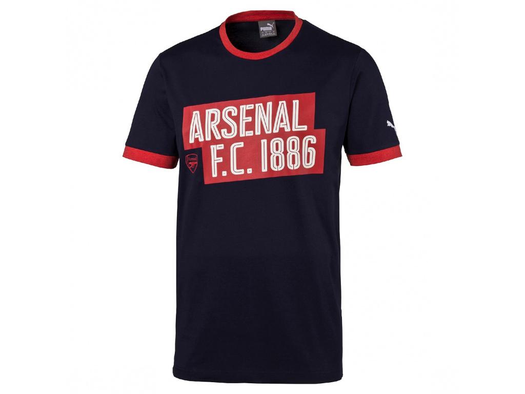 Tričko Puma Arsenal Slogan peacot junior