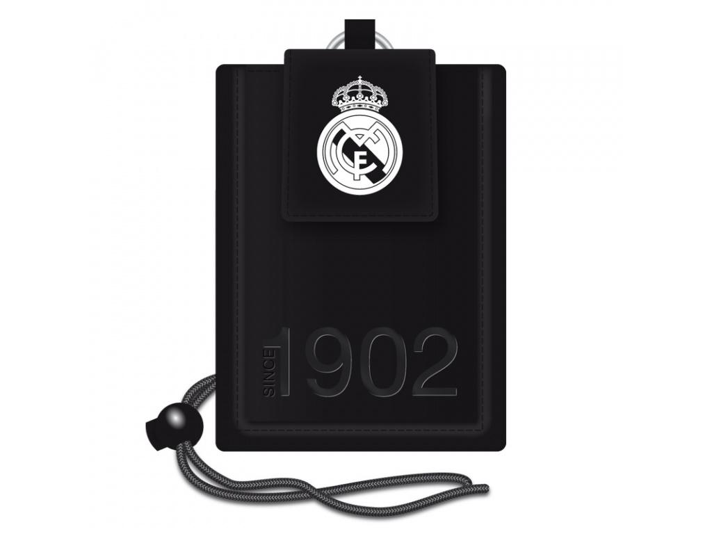 Peněženka na krk Real Madrid black 16