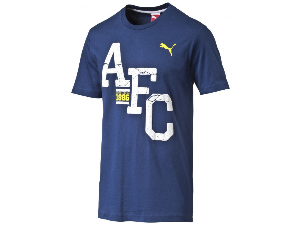 Tričko Puma Arsenal AFC modré