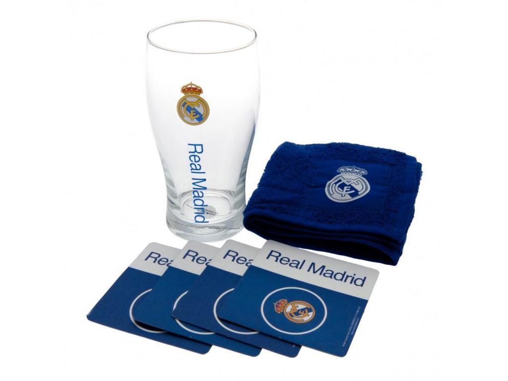 Pivní set Real Madrid blue