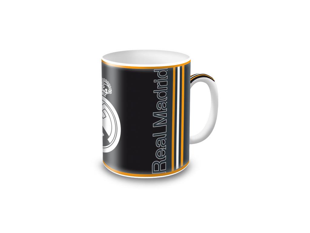 Hrnek Real Madrid černo-oranžový 300 ml