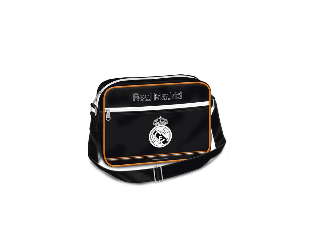 Velká taška přes rameno Real Madrid černooranžová