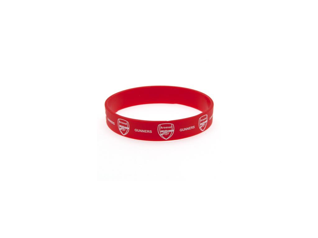 Silikonový náramek Arsenal