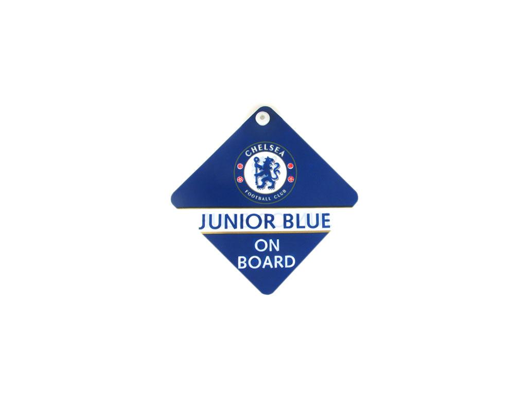 Junior blue on board Chelsea FC
