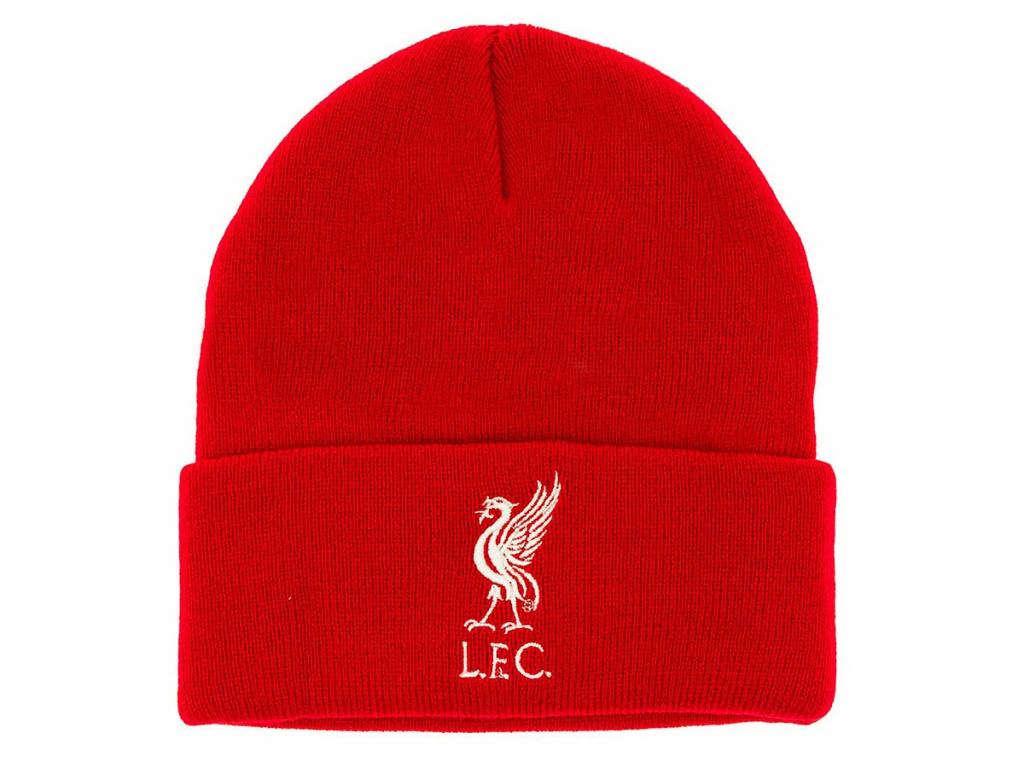 Zimní čepice Liverpool FC červená TU