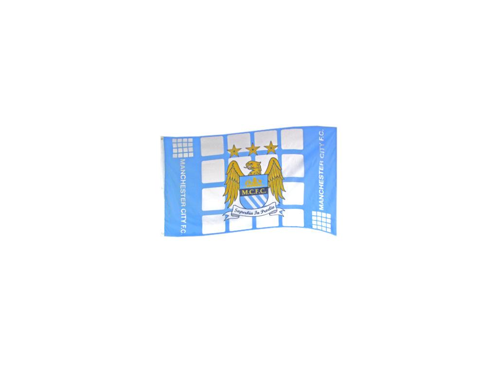 Vlajka Manchester City FC pz