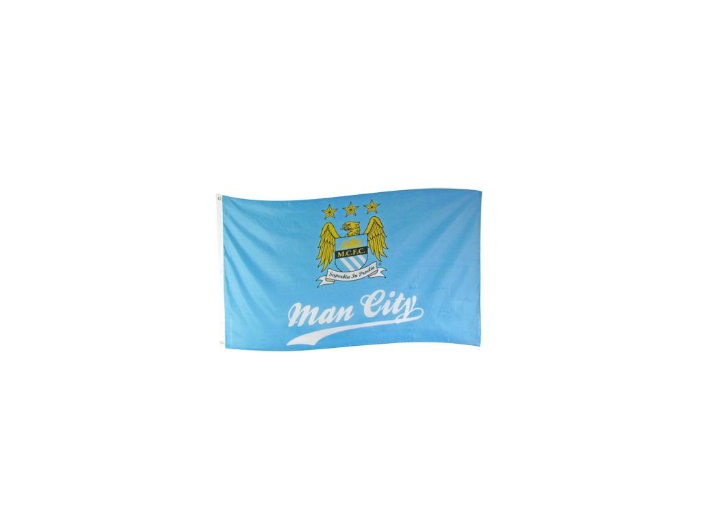 Vlajka Manchester City FC sl