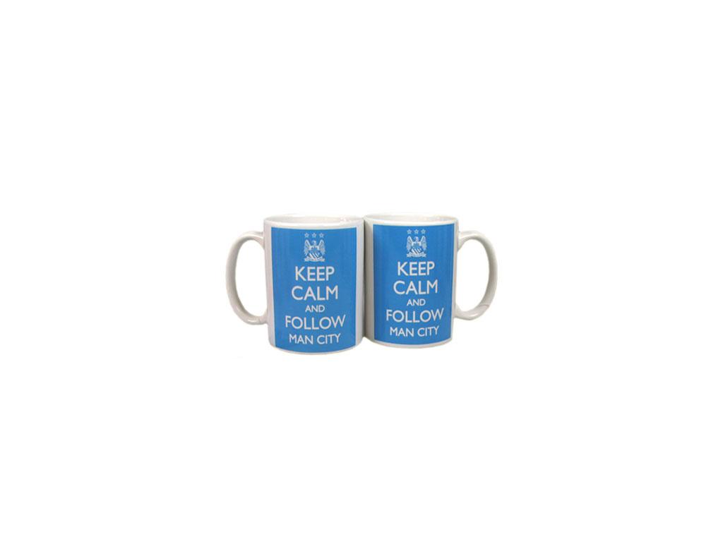 Hrnek Manchester City Keep Calm 350 ml