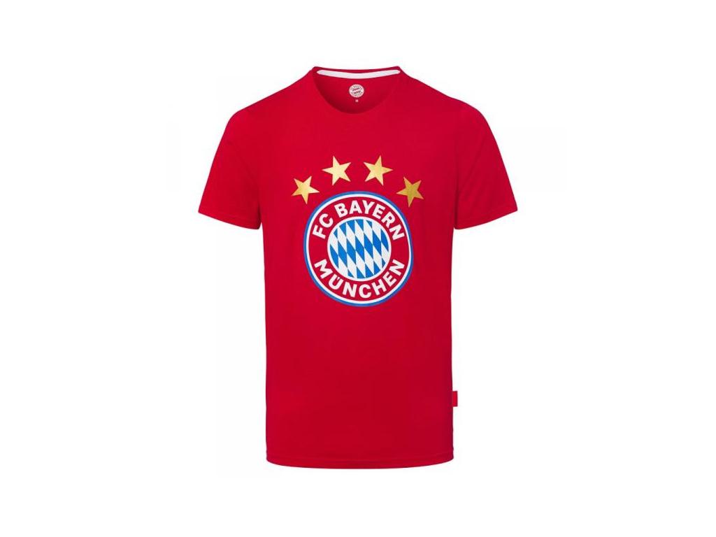 Dětské tričko Bayern Mnichov logo červené