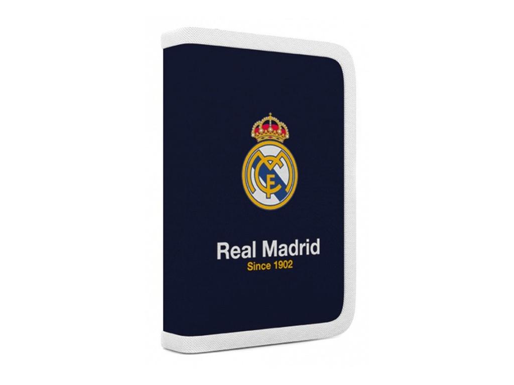 Penál 1 p. 2 chlopně, prázdný Real Madrid