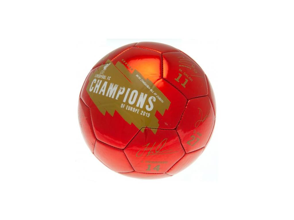 fotbalovy mic liverpool champions
