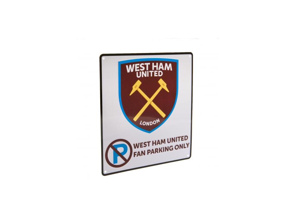 cedule west ham united no parking bila