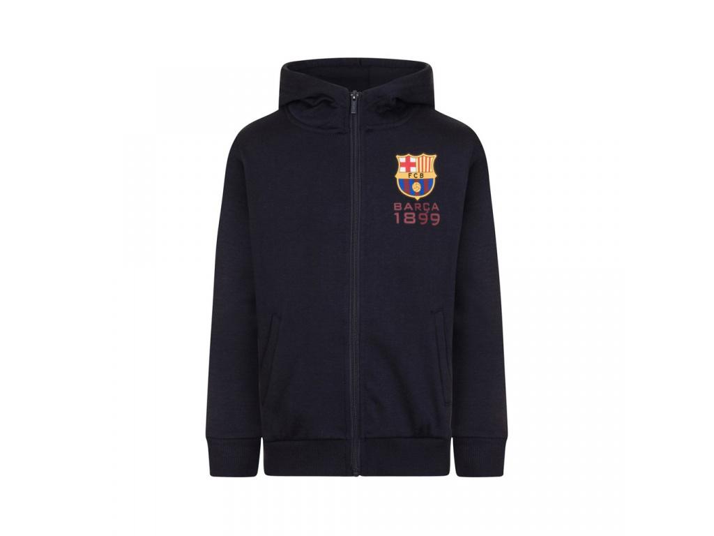 Dětská mikina FC Barcelona Hoody navy