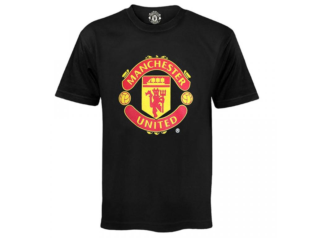 Dětské tričko Manchester United core black