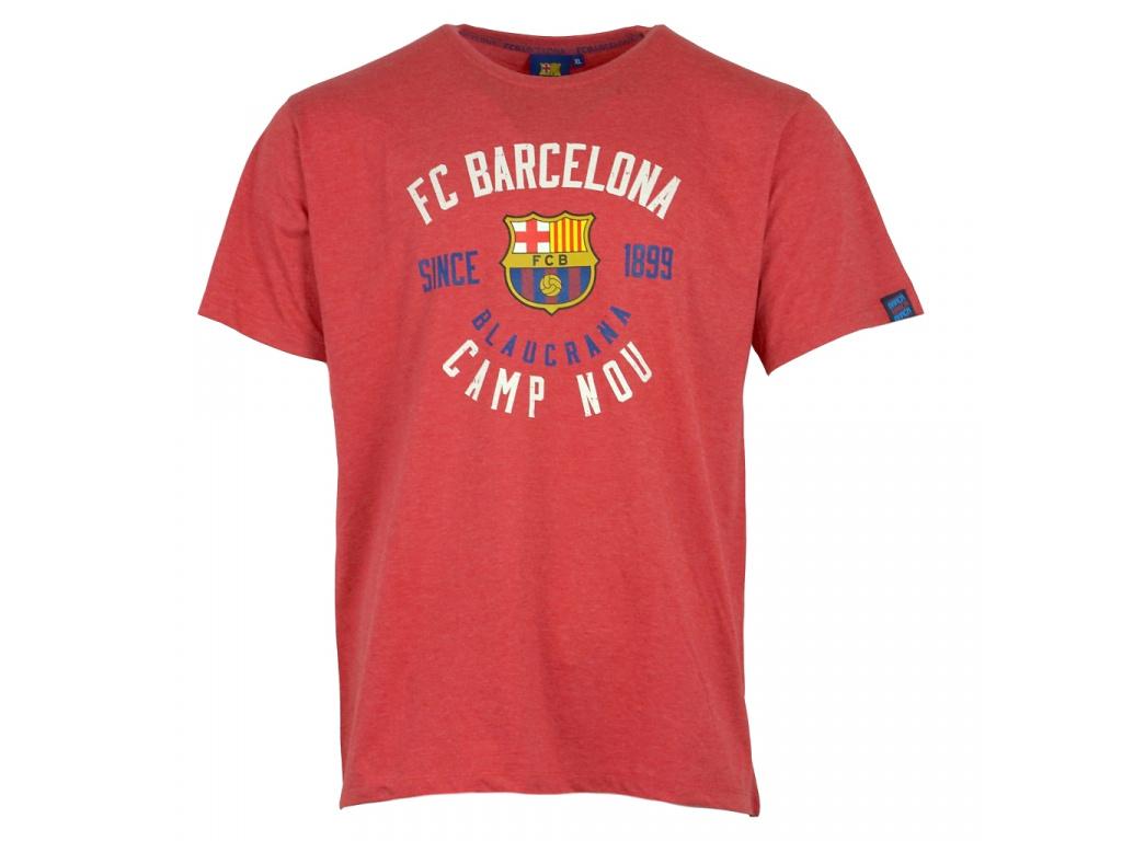 tricko fc barcelona record cervene