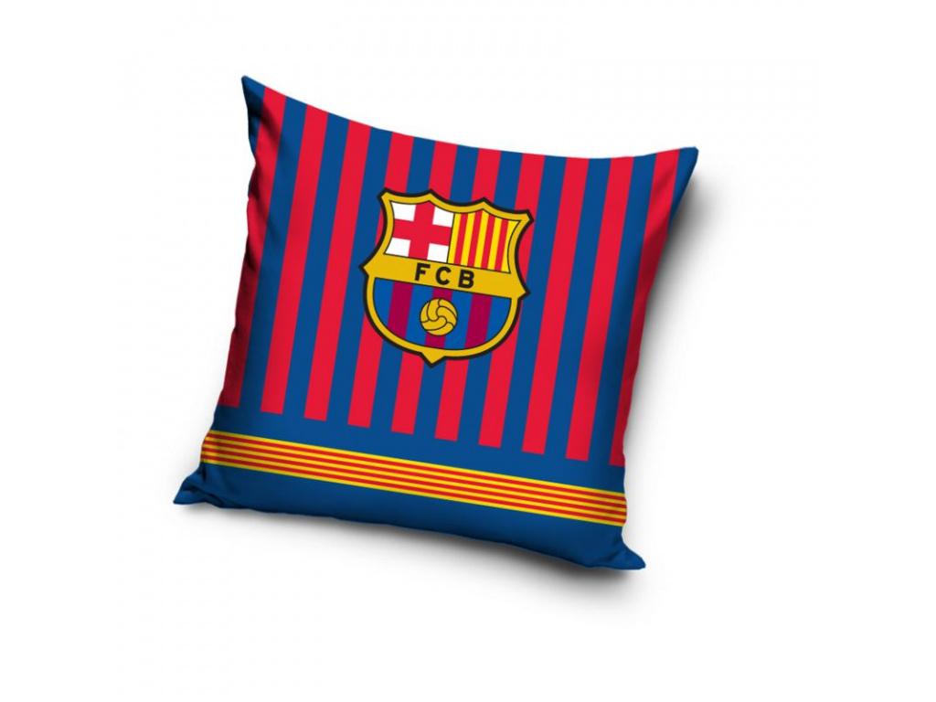 povlak polstarek fc barcelona stripes