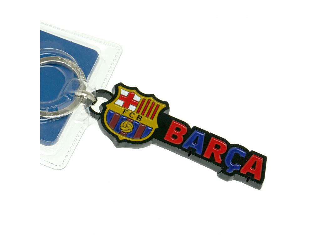 Kovový přívěšek FC Barcelona Barca
