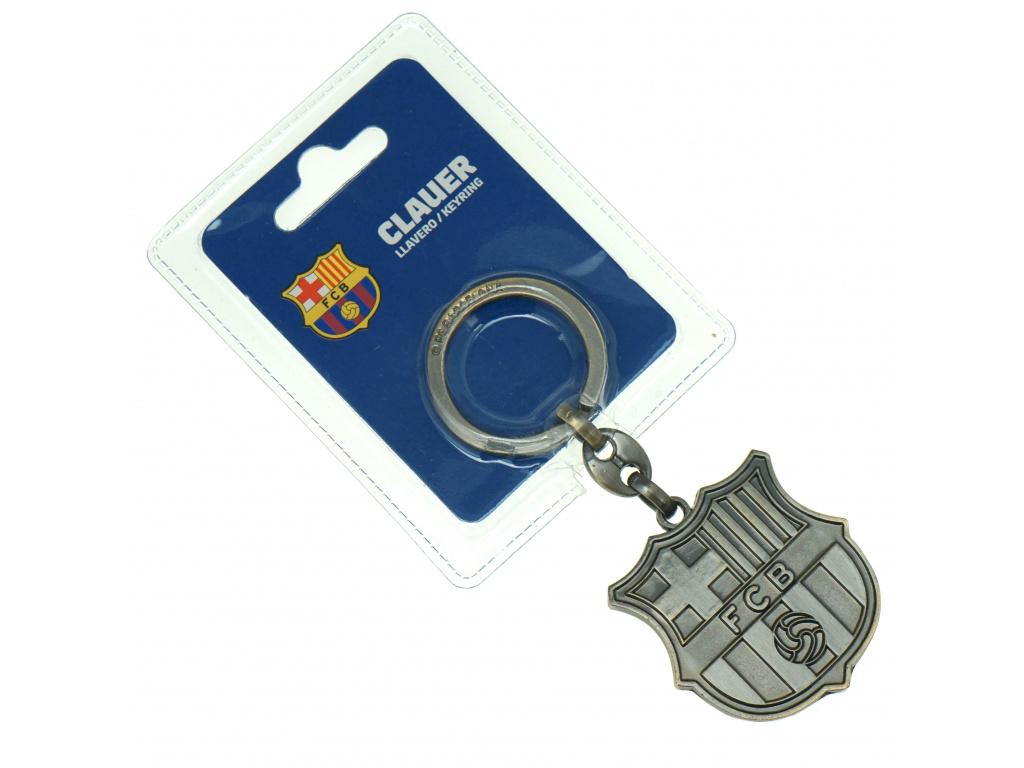 Kovový přívěšek FC Barcelona 20 crest