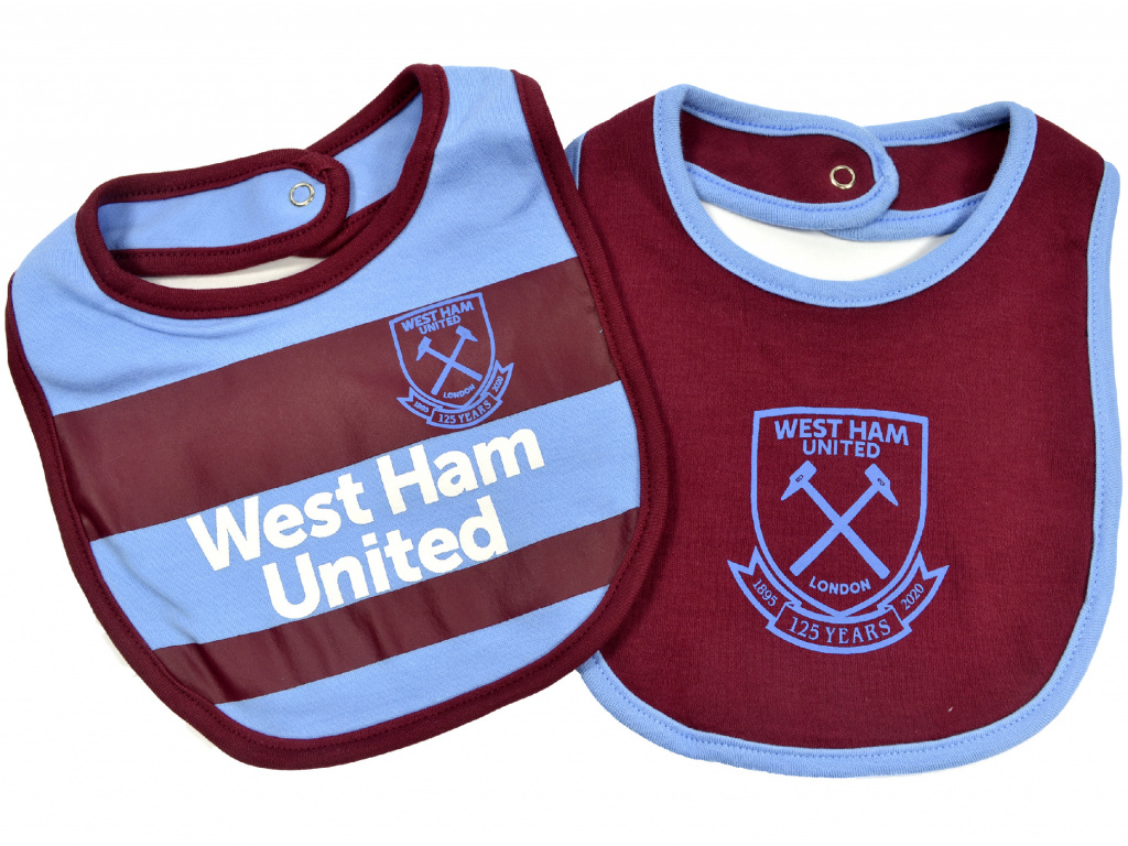 west ham two pack bibs 1