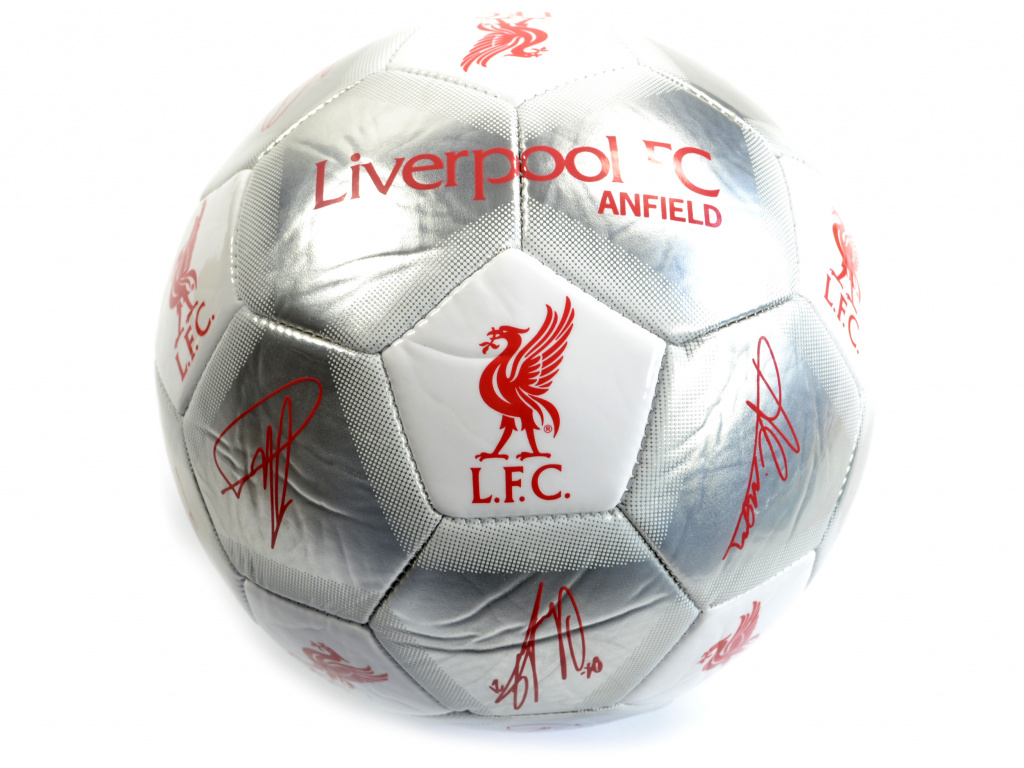 liverpool special edition signed ball