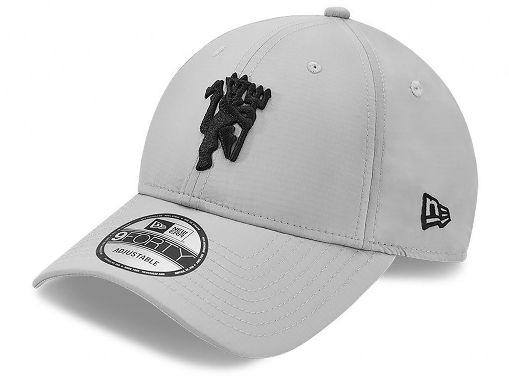 man utd new era 9forty grey ripstop