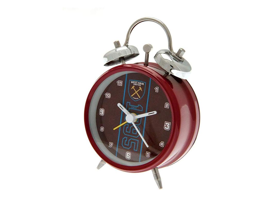 west ham alarm clock 1