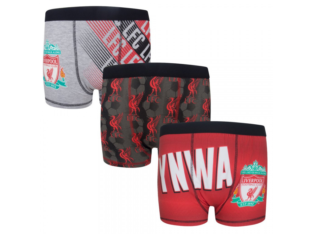 Dětské boxerky Liverpool FC 3pk premium