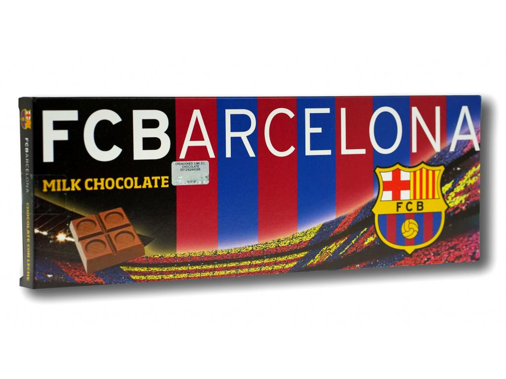 Mléčná čokoláda MAXI FC Barcelona 300g