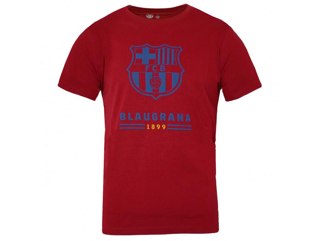 Pánské tričko FC Barcelona 20 ride red