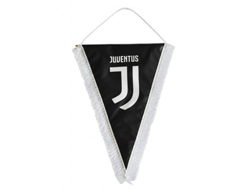 Vlaječka Juventus Turín 17x14 cm