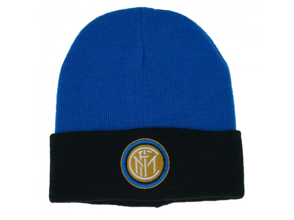 Zimní čepice Inter Milán cutt blue