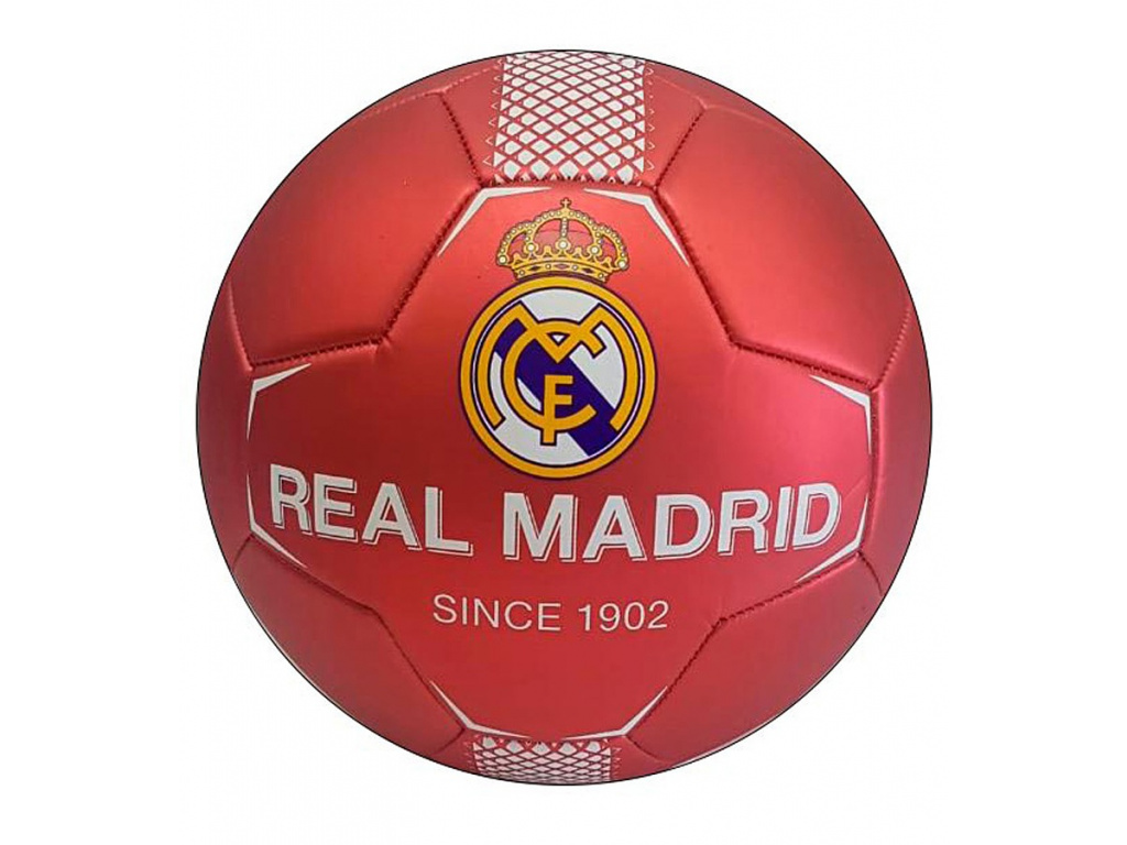 Fotbalový míč Real Madrid FC red vel. 2