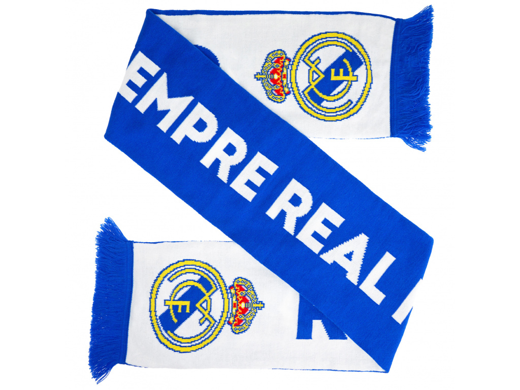 Klubová šála Real Madrid 150x18cm Por Siempre
