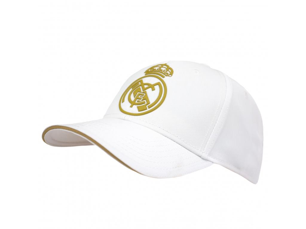 Kšiltovka Real Madrid FC bílo/zlatá