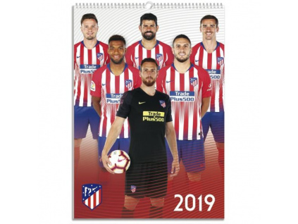 Kalendář Atletico Madrid 2019 A3