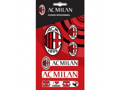 Sada samolepek AC Milán 6ks