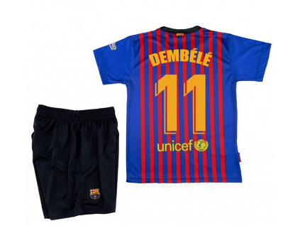Set dres a šortky FC Barcelona Dembele domácí 2018/19
