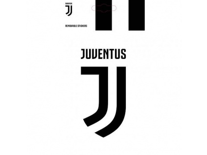 Samolepka Juventus Turín FC 13x7 cm