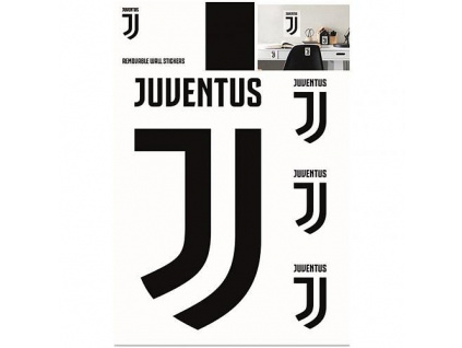 Nástěnné samolepky Juventus Turín 4ks