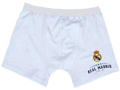 Pánské boxerky Real Madrid bílé
