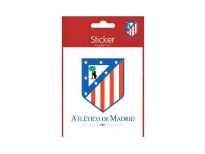 Samolepka Atletico Madrid steel