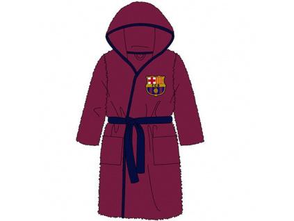 Dětský župan FC Barcelona wine