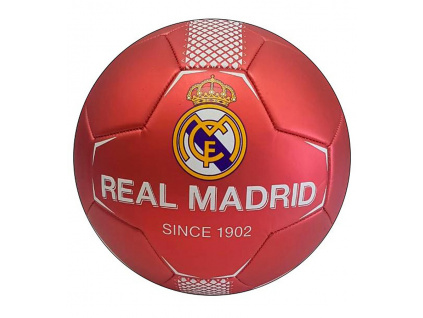 Fotbalový míč Real Madrid FC red vel.5