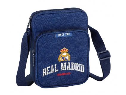 Taštička přes rameno Real Madrid navy