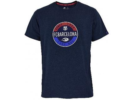 Tričko FC Barcelona stamp melange